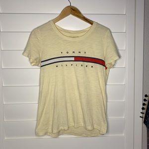 Yellow Tommy Hilfiger t-shirt